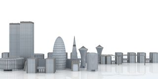 City concept Royalty Free Stock Photography