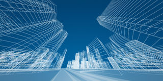 City concept Royalty Free Stock Image