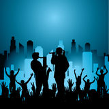 City Concert Royalty Free Stock Photo