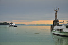 City of Constance, Bodensee, Germany Stock Image