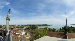 City of Constance - view from cathedral Royalty Free Stock Photos