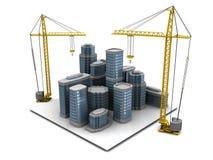 City construction Stock Photos