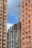 City construction activity Royalty Free Stock Photo