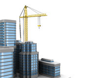 City construction background Royalty Free Stock Images