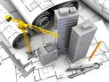 City construction Stock Photo