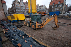 City construction site Royalty Free Stock Image