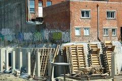 City Construction Site Stock Image