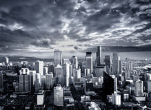 City of Contrast Royalty Free Stock Photo