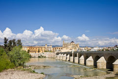 City of Cordoba Skyline in Spain Stock Photos