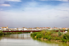 City of Cordoba Skyline in Spain Royalty Free Stock Image