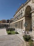 Museum in Corfu town on the Island of Corfu Stock Photo