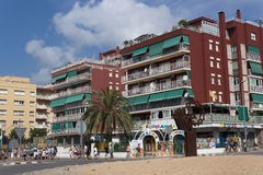 City on the Costa Brava Royalty Free Stock Images