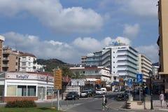City on the Costa Brava Stock Photo