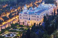 City Council building in Malaga Stock Photo