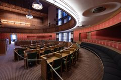 City Council Chamber in Oslo City Hall, Norway Royalty Free Stock Photo