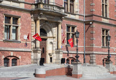City Council in Gdansk. Royalty Free Stock Images