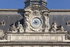City council of Tours. Indre-et-Loire, France Stock Images