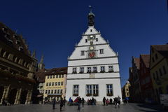 City Council Travern in Rothenburg ob der Tauber, Germany Stock Images