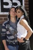 City couple Royalty Free Stock Photos