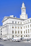 City courthouse Royalty Free Stock Photography