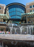 City Creek Fountain Stock Photography