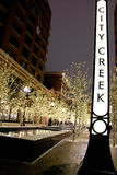 City Creek Plaza in Salt Lake City 2 Stock Image