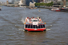 City Cruises. LONDON - MAY 30: City Cruises has revealed plans to build London´s  largest sightseeing boat ahead of the 2012 London Olympics. A City Cruises Royalty Free Stock Photos