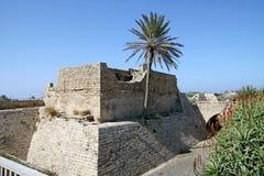 City Crusaders in Caesarea, Israel Stock Photo