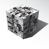 City cubed Royalty Free Stock Photos