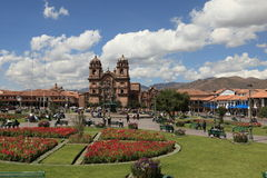 The City of Cuzco Royalty Free Stock Photos
