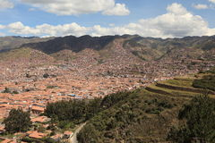 The City of Cuzco Stock Photography