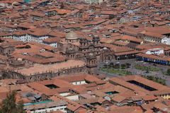 The City of Cuzco Royalty Free Stock Image