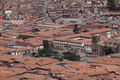 The City of Cuzco Royalty Free Stock Photo