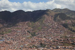The City of Cuzco Royalty Free Stock Images