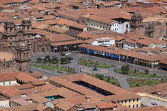 The City of Cuzco Stock Photo