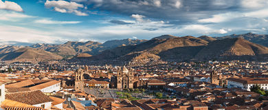 City of Cuzco. In Peru, South America stock images
