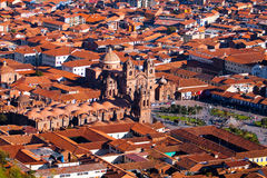 City of Cuzco in Peru, South America Stock Image