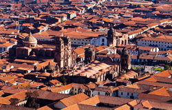 City of Cuzco in Peru, South America Royalty Free Stock Photos