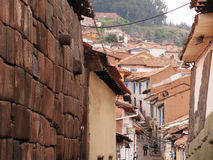 City of Cuzco in Peru. South America stock photos
