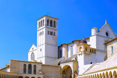 City cview of Assisi. Umbria. Italy. City cview of Assisi. Umbria region . Italy royalty free stock photo