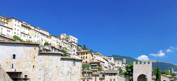 City cview of Assisi. Umbria. Italy Royalty Free Stock Photos