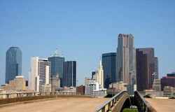 City of Dallas downtown Stock Image