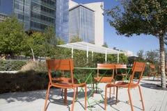 City Dallas Klyde Warren Park view Royalty Free Stock Photos