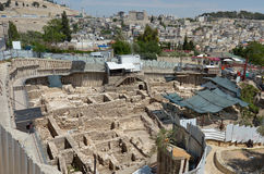 City of David in Jerusalem - Israel Royalty Free Stock Image