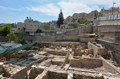 City of David in Jerusalem - Israel stock images
