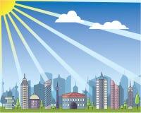 City daylight Stock Photo