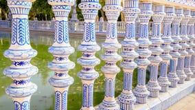 city de espana διάσημο παλαιό plaza Σεβίλλη Ισπανία ορόσημων Στοκ φωτογραφίες με δικαίωμα ελεύθερης χρήσης