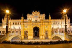 city de espana διάσημο παλαιό plaza Σεβίλλη Ισπανία ορόσημων Στοκ φωτογραφία με δικαίωμα ελεύθερης χρήσης