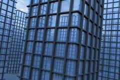City - dead buildings Stock Photography