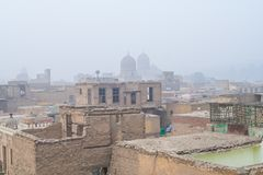 City of the dead. In cairo egypt Stock Photography